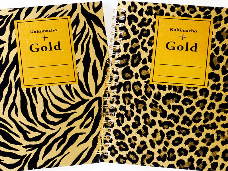 記念品・参加賞に書きま帳+GOLD