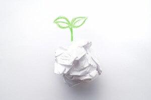 紙のリサイクル