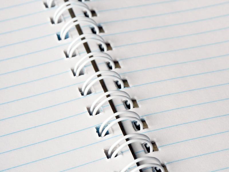 リングノートに使われる「ダブルリング」とは?