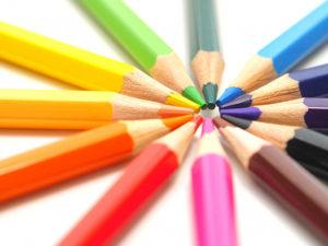 書きやすい用紙~色鉛筆編~